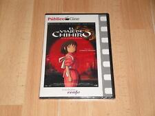 EL VIAJE DE CHIHIRO UN FILM DE HAYAO MIYAZAKI EN DVD NUEVA PRECINTADA