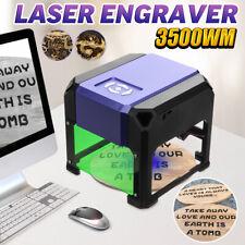 3500mW Mini USB Laser Engraver Printer Carver DIY Mark Engraving Cutting