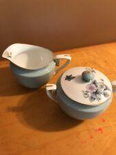 Royal Worcester Woodland creamer-milk jug & Sugar M3
