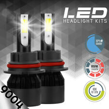 XENTEC LED HID Headlight kit 9004 HB1 White for 1996-1998 Volkswagen Cabrio