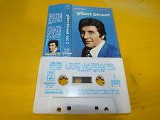 GILBERT BECAUD - K7 audio / Audio tape !!! CASSETTE D'OR !!!