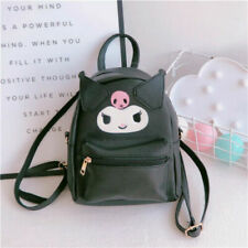 Cute Girl's Kuromi Backpack Small Travel Shoulder Crossbody Bag Best Gift