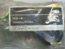 "3M MB-4 Mounting Bracket Cable O.D. Range: 1.10"" (28mm) to 1.50"" (38mm)"