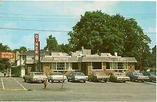 The Milford Diner in Milford PA Roadside Postcard