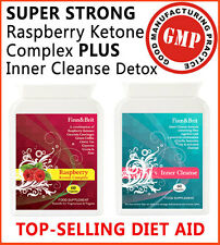 Finn&brit Super Fuerte Rasberry cetona keytone + Colon Cleanse Detox Diet