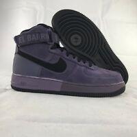 Nike Air Force 1 One High '07 QS Harlem Uptown Purple Black 573967-500 Men's 8.5