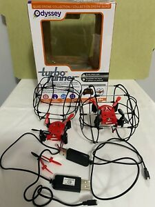 Odyssey Turbo Runner Climbing Rolling Quad copter x2