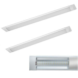 LED Feuchtraumleuchte 120/150cm Wannenleuchte Leuchtstoffröhre Lampe ULTRASLIM