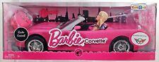 Barbie Radio Control Corvette & Doll Giftset Toys R Us Exclusive P3494 NRFB 2008