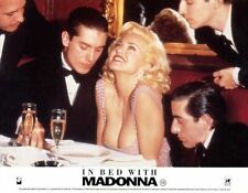 TRUTH OR DARE: IN BED WITH MADONNA -1991- orig 8x10 ENG color still #2 - MADONNA