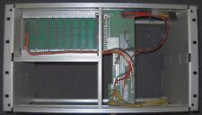 """19"""" Zoll Einschub 6HE mit ECB Bus Platine und Netzteil CP/M Z80"""