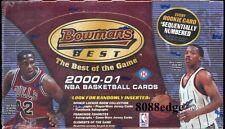 2000-01 00-01 BOWMAN'S BEST NBA HOBBY SEALED BOX: SHAQ/MAGIC JOHNSON AUTO COMBO