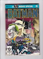 BATMAN A MOVIE SPECIAL 1989 DC Comics No.1 O'Neil Michael Keaton