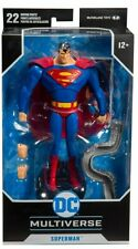 McFarlane DC Multiverse Superman Animated Series Action Figure! Case Fresh!