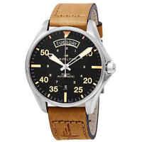Hamilton Khaki Pilot Day Date Automatic Black Dial Men's Watch H64645531