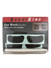 Sports Star Eye Black Stick-ons (Write your own message) New