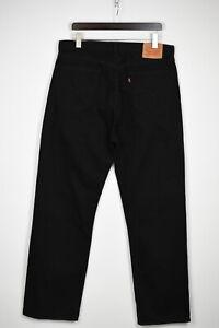 Levi Strauss & Co.751 Homme W40/L34 Noir Jeans Coupe Droite 35983_GS