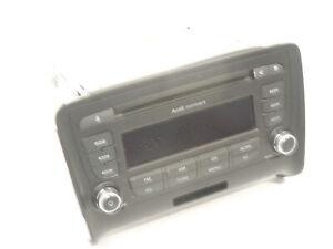 Audi TT 8J concert stéréo radio lecteur cd unité de tête endommagé 8J0035186J