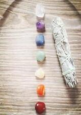 Chakra Gemstone Set Reiki Meditation Healing Crystals