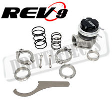 REV9 RS-SERIES DUO PORT 40MM EXTERNAL WASTEGATE V BAND W/ 5-10-11 PSI SPRINGS