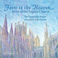 obert I Parsons - Faire Is The Heaven - Music Of The English Church [CD]