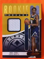 2019-20 Absolute BOL BOL Rookie Threads Level 1 Jersey Relic SP Worn RC