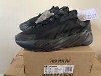 Yeezy boost 700 MNVN triple black Reflective Uk 10 Us 10.5 Adidas Raffle