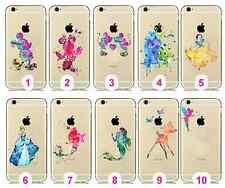 Cute Princess Cartoon Movie Tpu Creative Novelty iPhone Soft Gel Back Case Cover