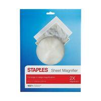 Staples 922731 3-Inch Round Handheld Magnifier