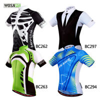 Men's MTB Cycling Jersey Team Road Bike Riding Short Sleeve Tops Quick Dry Gifts