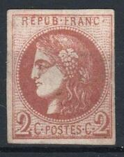 "FRANCE STAMP TIMBRE 40 Bd "" CERES BORDEAUX 2c BRUN-ROUGE FONCE"" NEUF TB  M329"