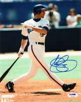 SHAWN GREEN SIGNED AUTOGRAPHED 8x10 PHOTO TORONTO BLUE JAYS PSA/DNA