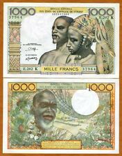 West African States, Senegal, 1000 Francs Nd (1980), P-703Ko, UNC