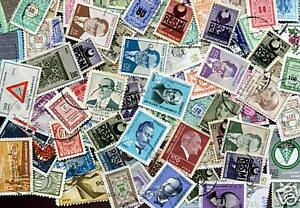 TURQUIE LOT DE TIMBRES TOUS DIFFERENTS      #01
