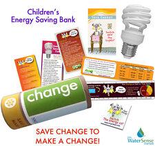 Energy Star Bank Saving Eco-Kit  Make Change Cfl Bulb