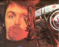 1970's PAUL McCARTNEY & WINGS 8X10 SIGNED COLOR PHOTO AUTOGRAPHED REPRINT