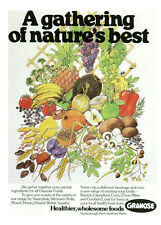"""Publicité Ancienne - Anglaise"""" A Gathering of Nature's Best  1978 """" ( P.  5 )"""