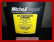 1989,1990,1991 AIR CONDITIONING ,HEATING ,DOMESTIC CARS,LIGHT TRUCKS,VANS
