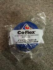 "Co-Flex Coflex Bandage Pet Dog Horse Tape Wrap 2""x5 Yards Blue"
