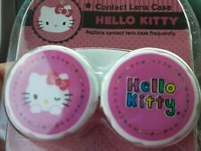 Hello Kitty Contact Case (pink and white) Ages 5+ for girls
