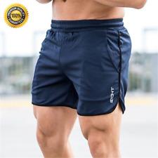 Pantalones Cortos Para Hombres Deportes Correr Fitness Verano Secado Rápido Gym