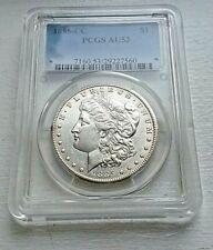 1885-CC Morgan Silver Dollar  PCGS - AU53 - Incredible Coin!