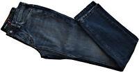 Jeans Uomo Blu Jaggy Men Mcqueen Slim Bugi Fisso Blue