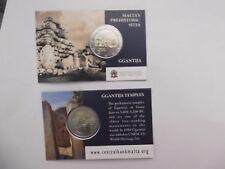 Coincard 2 Euro Gedenkmünze Malta 2016  GGANTIJA   Münzzeichen  MdP