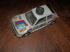 Peugeot 205 Turbo Burago 1/25 Made in Italy Some Wear
