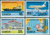 Samoa 1982 SG616-619 Independence set MNH