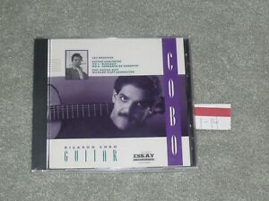 Brand New Leo Brouwer CD / Guitar Concertos No. 3 & 4 / Richard Kapp / ESS A Y