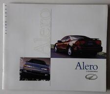OLDSMOBILE Alero 2000 dealer brochure catalog - French - Canada