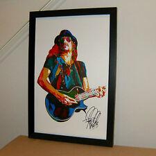Kid Rock, Singer Sognwriter, Guitar, Guitarist, Rap Metal, 11x17 PRINT w/COA