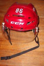 ARIZONA COYOTES Josh Jooris game-worn Bauer red home helmet #86 from 2016-2017